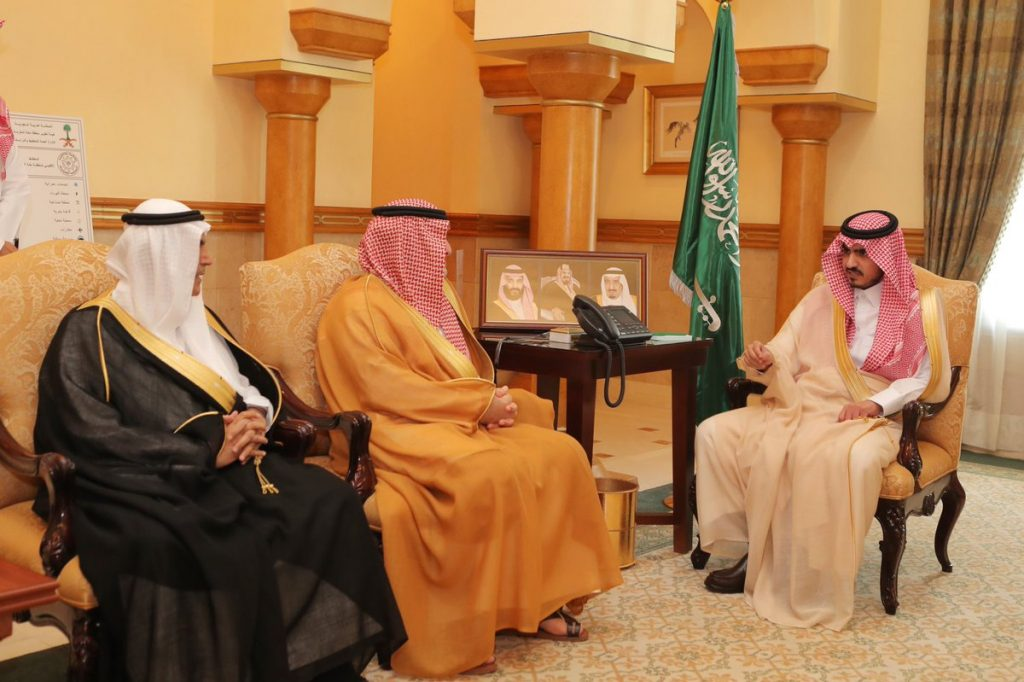 نائب أمير مكة يستقبل رئيس وأعضاء اللجنة التنفيذية للجمعية الخيرية للطعام (إطعام).