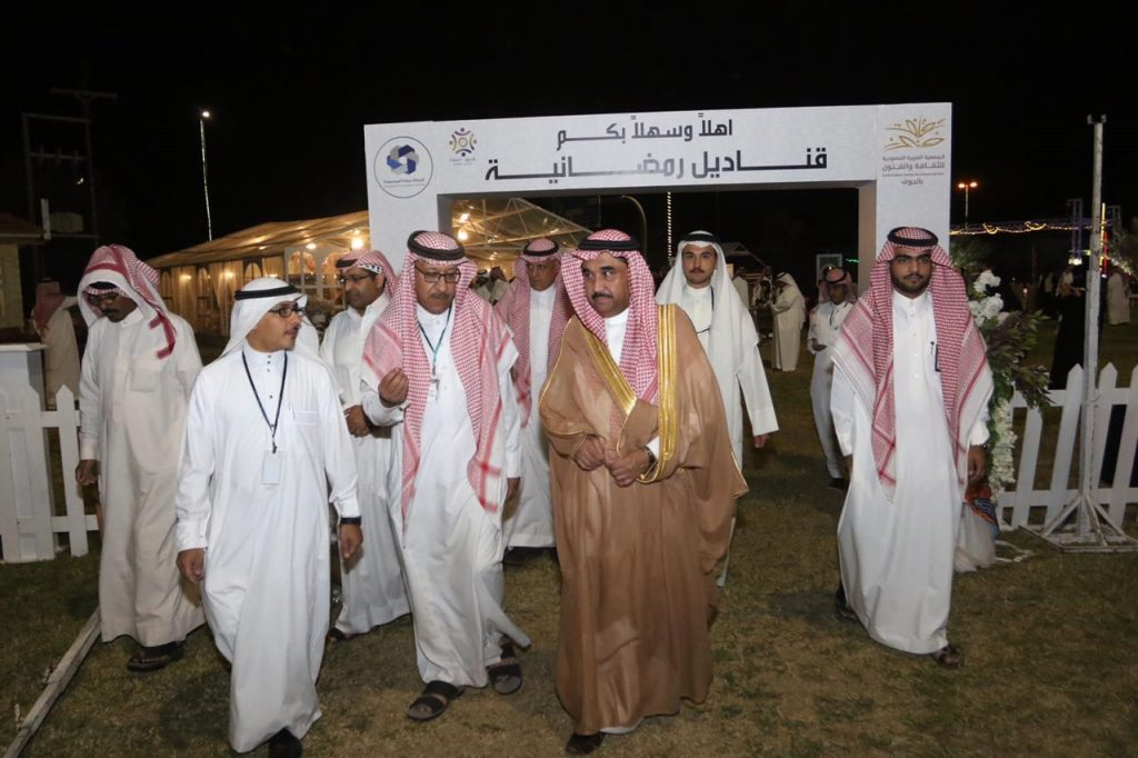 وكيل إمارة الجوف يطلق برنامج قناديل رمضانية بجمعية الثقافة