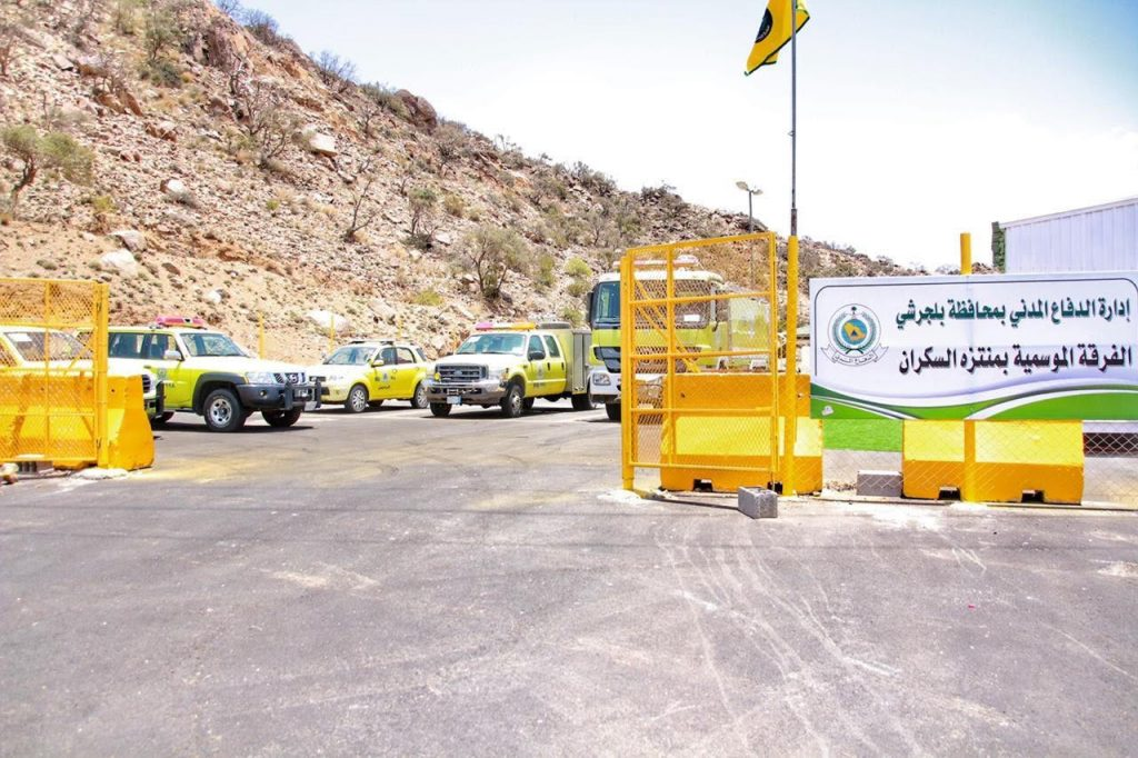 اللواء المنتشري يعلن استحداث ثلاث فرق موسمية بالغابات مع تغطية خدمات الدفاع المدني لجميع المواقع السياحية