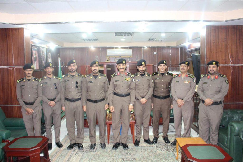 ترقية عددا من ضباط شرطة منطقة الجوف إلى رتبة ملازم أول