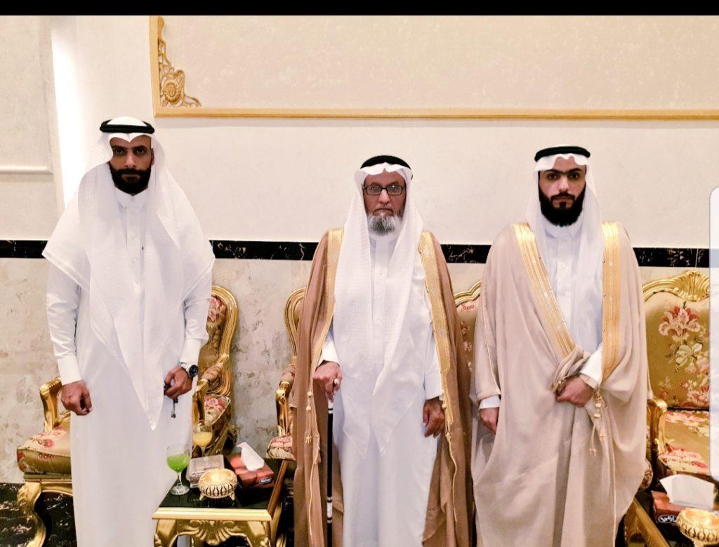 ال مشهور يحتفلون بزواج الدكتور فواز الشهراني