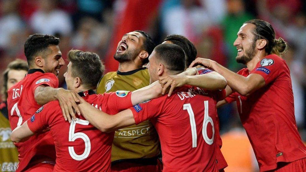 تركيا تسقط فرنسا في تصفيات كأس اوروبا 2020