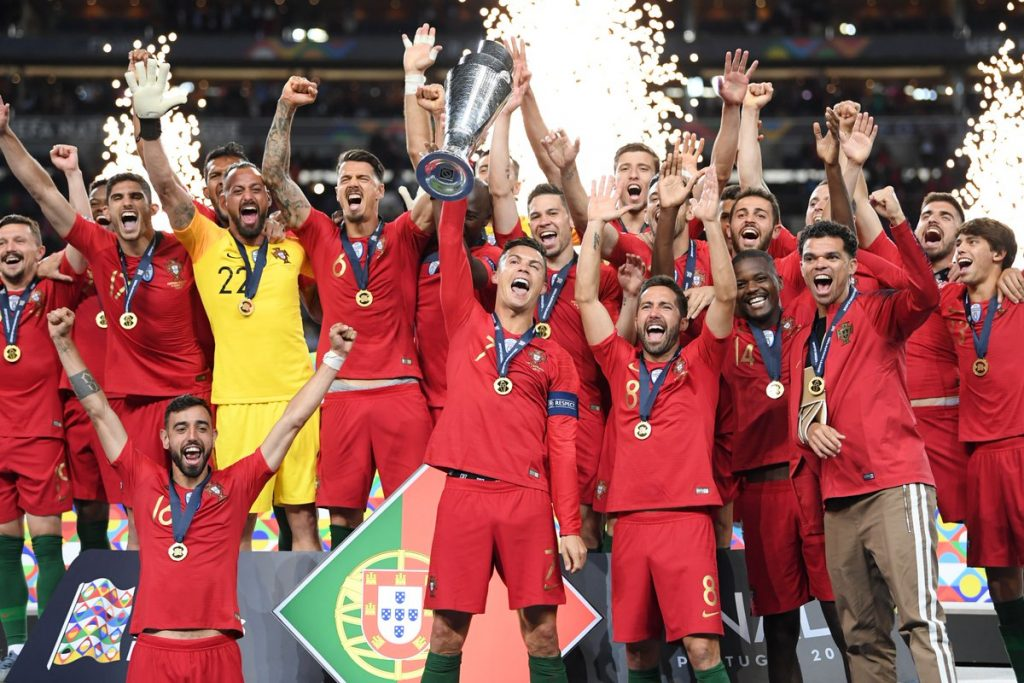 """البرتغال تتوج بدوري """"أمم أوروبا"""" على حساب الطواحين الهولندية"""