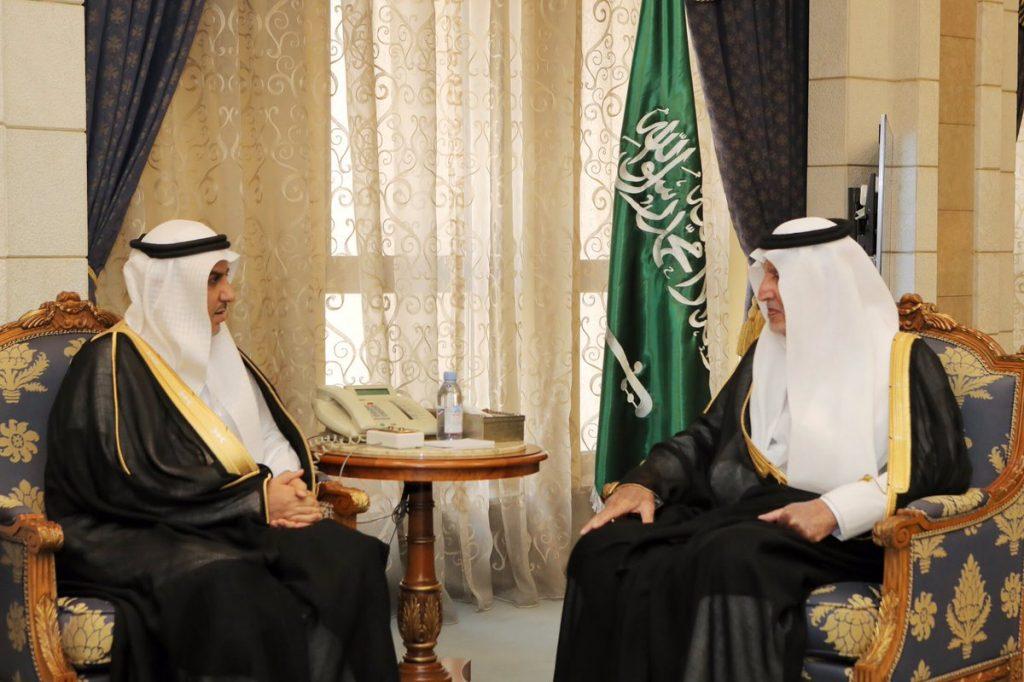أمير مكة يستقبل رئيس فرع النيابة العامة بالمنطقة