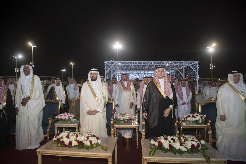 أمير منطقة الجوف يرعى حفل الأهالي بعيد الفطر المبارك