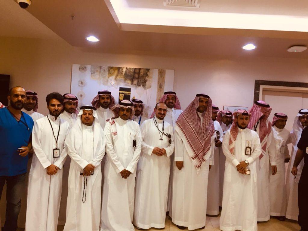 أجواء فرحة العيد ترفرف على مستشفى شرق جدة وموظفيها