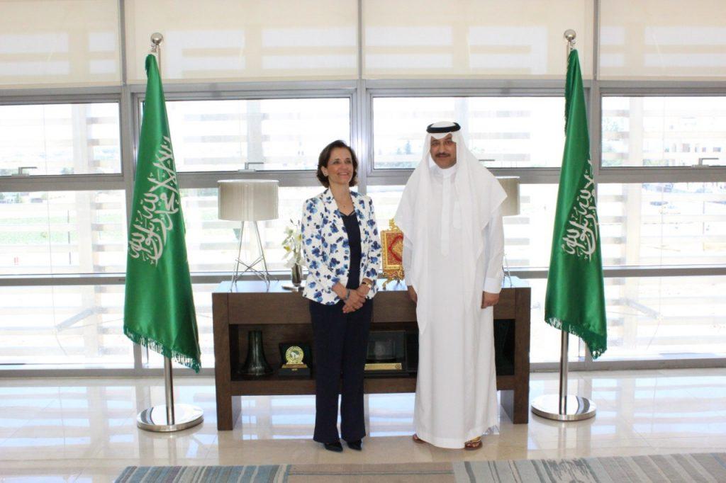 سفير المملكة لدى الأردن يلتقي الممثل المقيم والمدير القُطري لبرنامج الأغذية العالمي