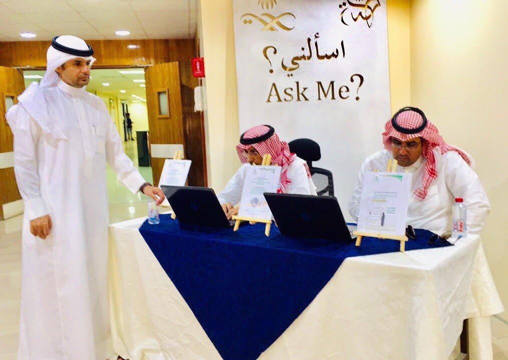فريق (الافصاح) بصحة الرياض يزور مستشفى الملك خالد بالمجمعة