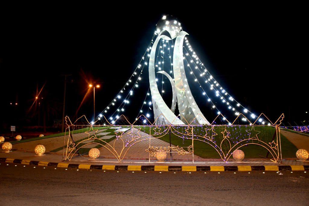 بلدية مدينة الكهفة تحتفل بالعيد بفعاليات ترفيهية متنوعة