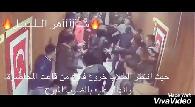 بالفيديو.. شقيق أمير قطر يتعرض لضرب مبرح في تركيا