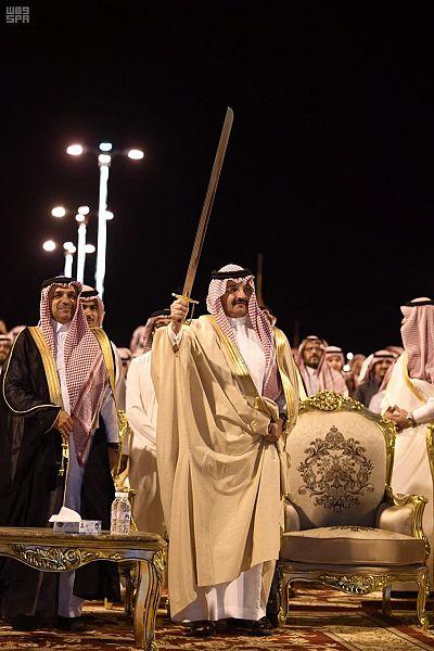 الأمير تركي بن طلال يرعى حفل ليالي محافظة ظهران الجنوب