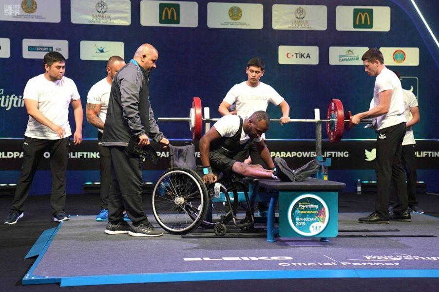رباع الأخضر عبادة هوساوي يحقق المركز السادس في بطولة العالم للإعاقة الحركية