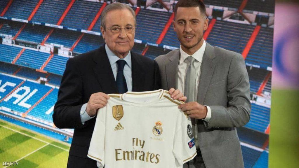 """في أقل من شهر.. ريال مدريد يستعيد """"أموال هازارد"""""""