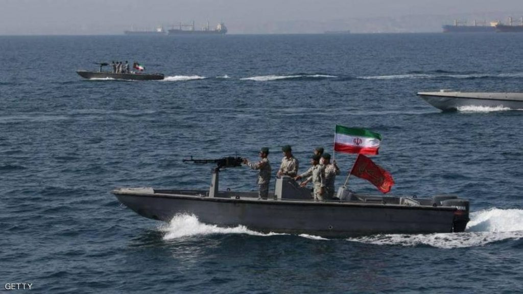 الحرس الثوري الإيراني يحتجز ناقلة نفط بريطانية في مضيق هرمز