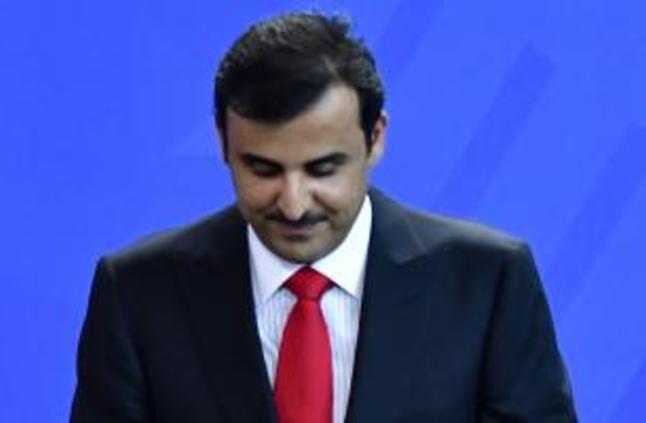 """شاهد : على الهواء.. مستشار تميم يكذب وزير خارجية قطر حول """"المقاطعة"""""""