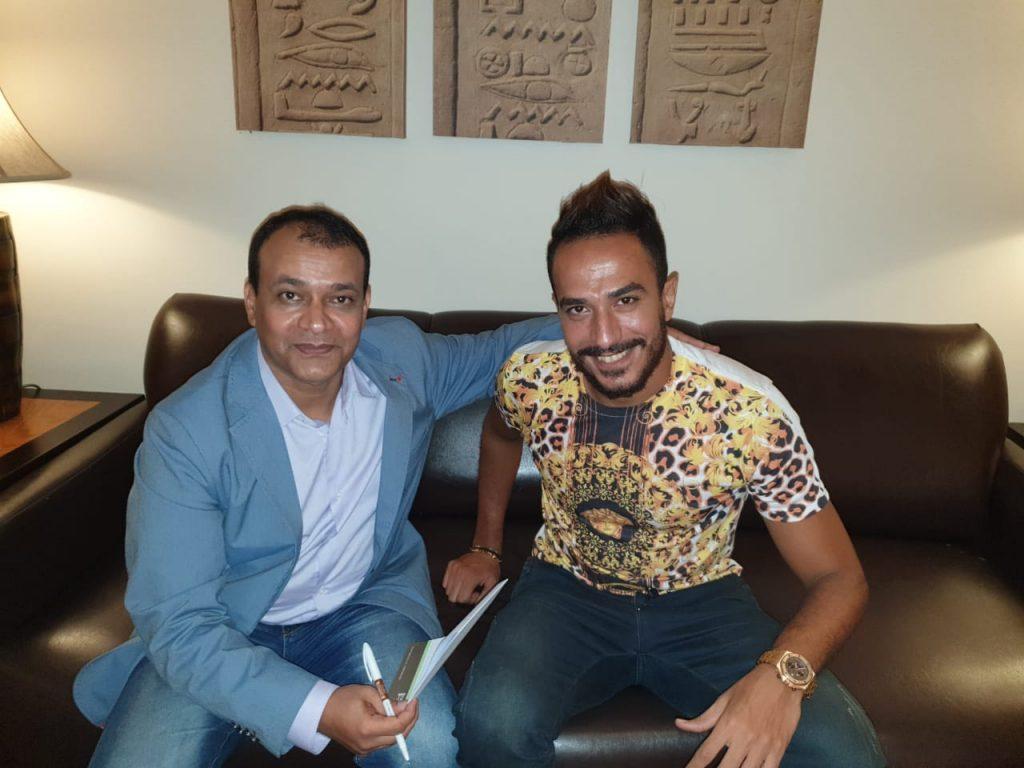 """نجم الكرة المصرية """" كريم كيتا""""  في حوار خاص مع """"المناطق"""""""