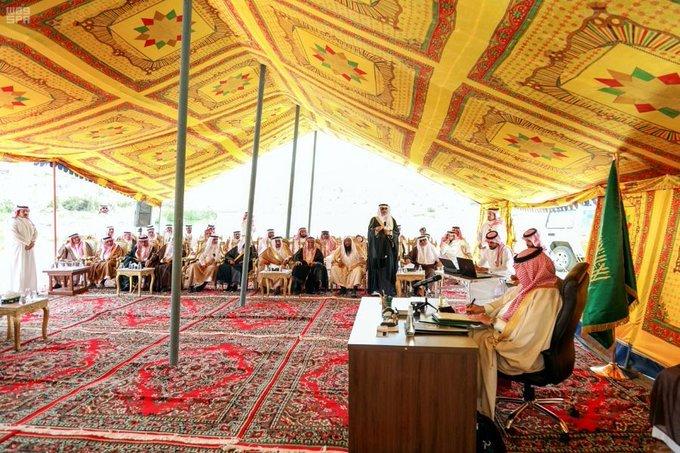 أمير عسير يدعو مشائخ ونواب المنطقة لتحقيق التكامل مع أجهزة الدولة