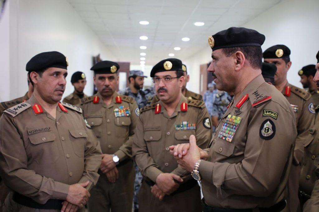 مدير الامن العام يتفقد قيادة امن الحج بالمدينة المنورة