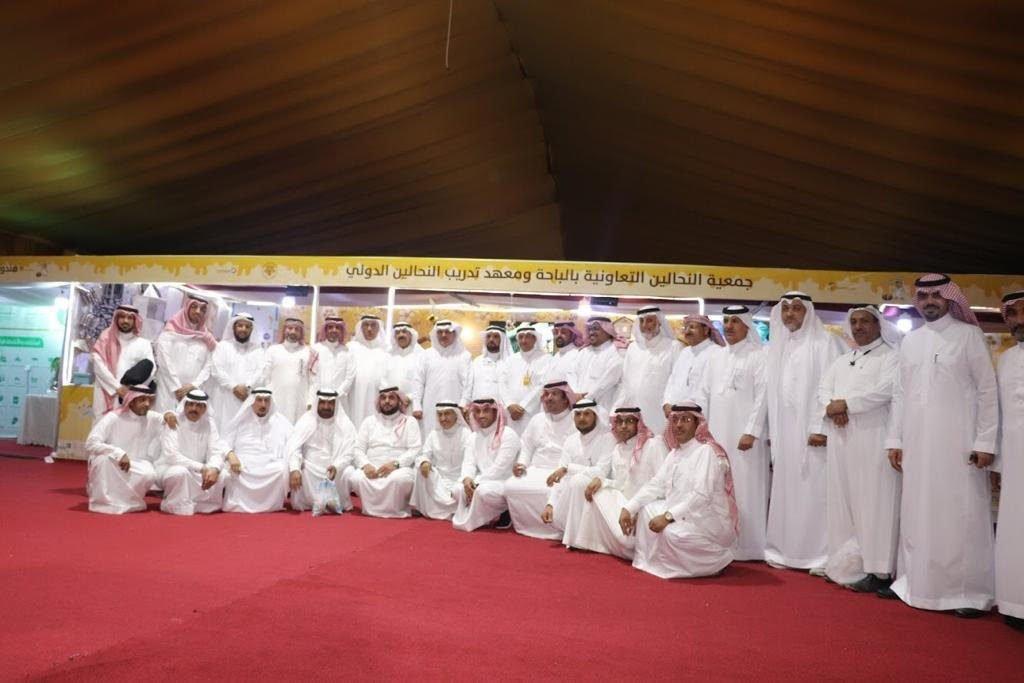 اعضاء اللجنة الوطنية بمجلس الغرف يشيدون بمهرجان العسل بالباحة