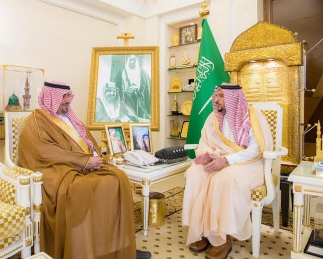 أمير القصيم يستقبل التويجري لتكليفه مديراً لميدان الملك سعود للفروسية