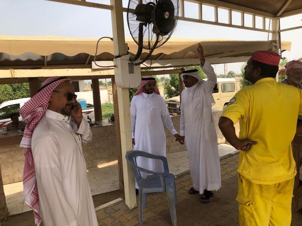 بلدي قوز الجعافرة في جولة ميدانية تنفقدية لعدد من المشاريع تحت التنفيذ