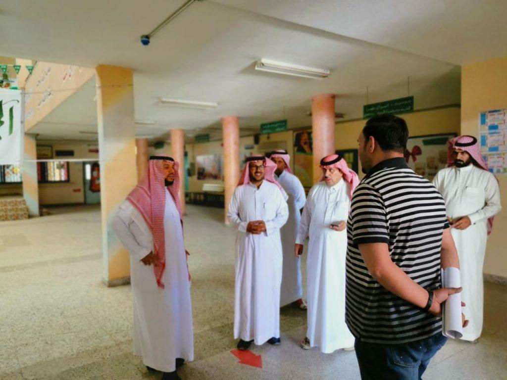 مدير تعليم الشماليه يوجه بتشكيل لجنة لمتابعة ودعم المشاريع في المنطقة