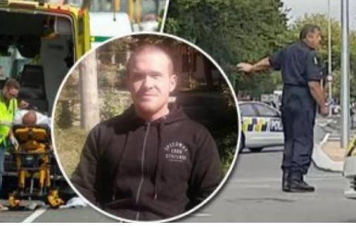 """شاهد: سفاح نيوزيلندا ينشر رسالة بخط يده من السجن .. ويحذر : """"صراع كبير قادم""""!"""