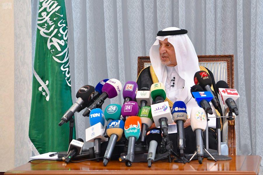 أمير مكة المكرمة يثمن جهود المشاركين في الحج ، وأنهم وقود نجاحه