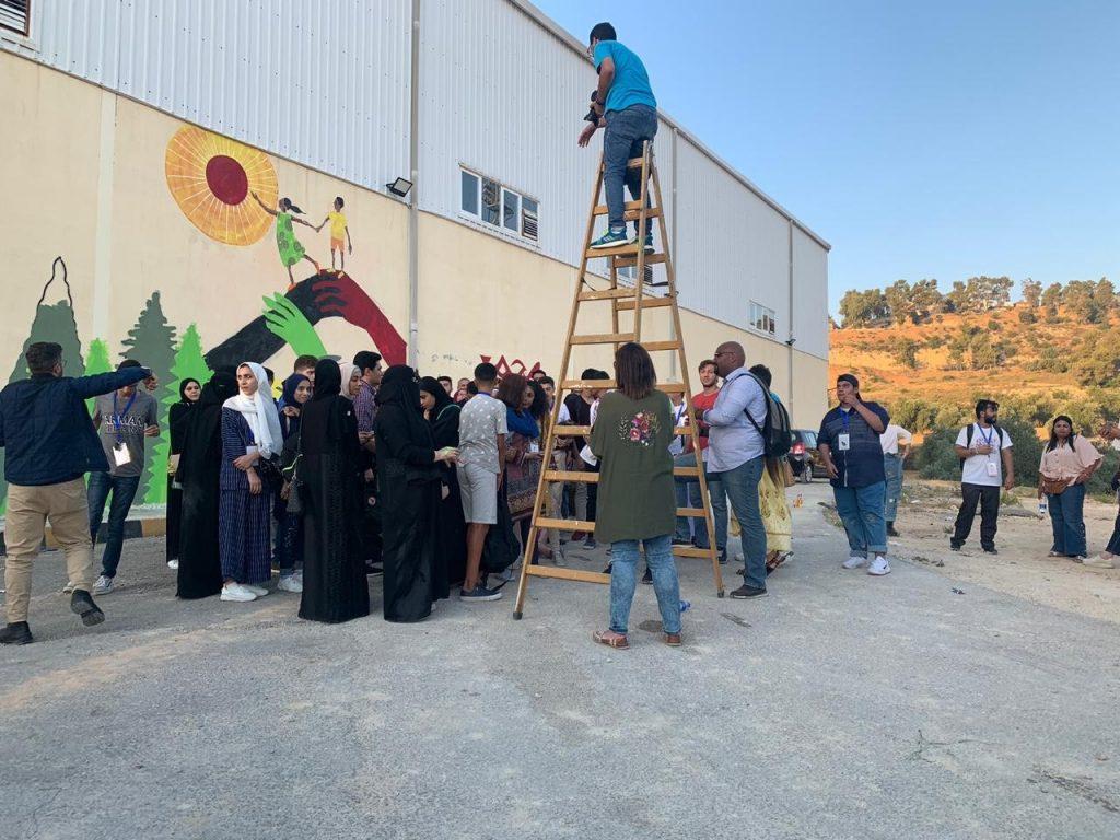 طالبات من الجوف يشاركن بمؤتمر الشباب العربي الدولي 38
