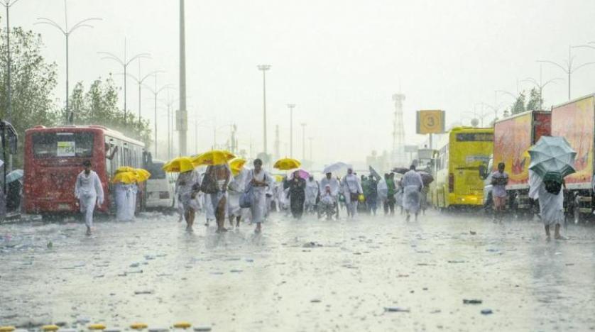 الأرصاد : أمطار رعدية على عدة مناطق