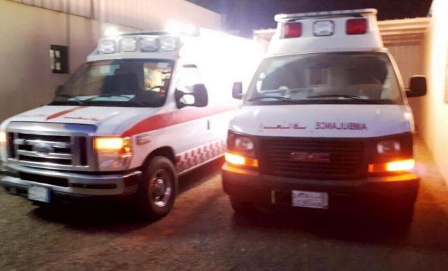 استنفار بمستشفى الموية عقب حادثة حافلة ركاب شمال الطائف