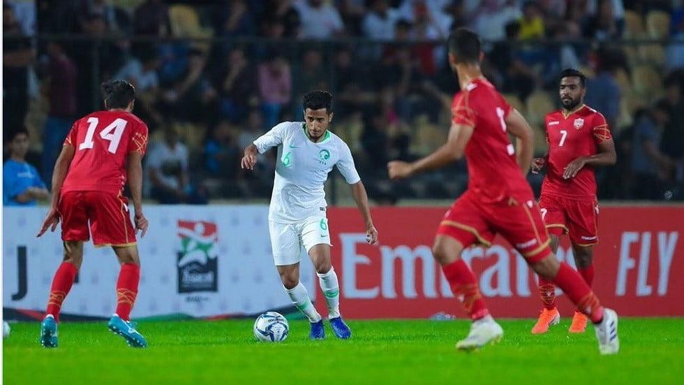 الأخضر يتعادل سلبيا مع البحرين في بطولة غرب آسيا الودية