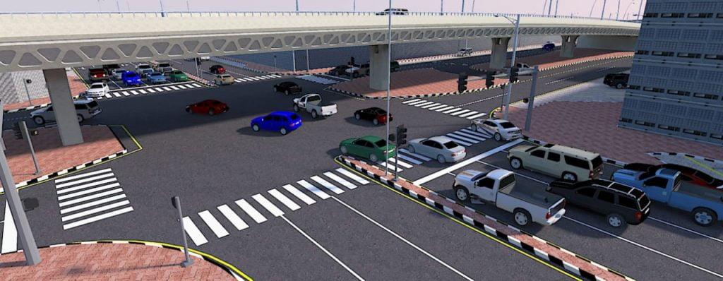 أمانة الشرقية: إنشاء جسر لتسهيل الحركة المروية في طريق الأمير نايف مع شارع 18