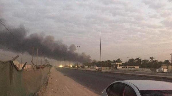 انفجار بمخزن للحشد.. والصواريخ تتساقط على المنازل ببغداد