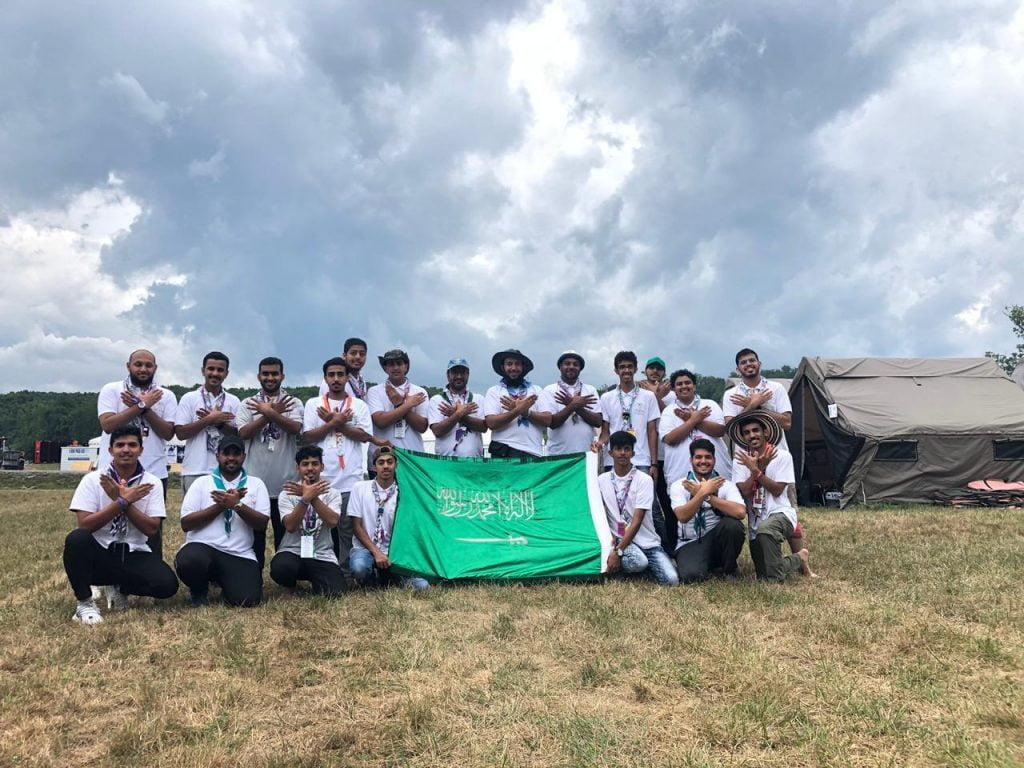 طالبان من جامعة القصيم يشاركان في التجمع الكشفي العالمي الـ 24 بأمريكا