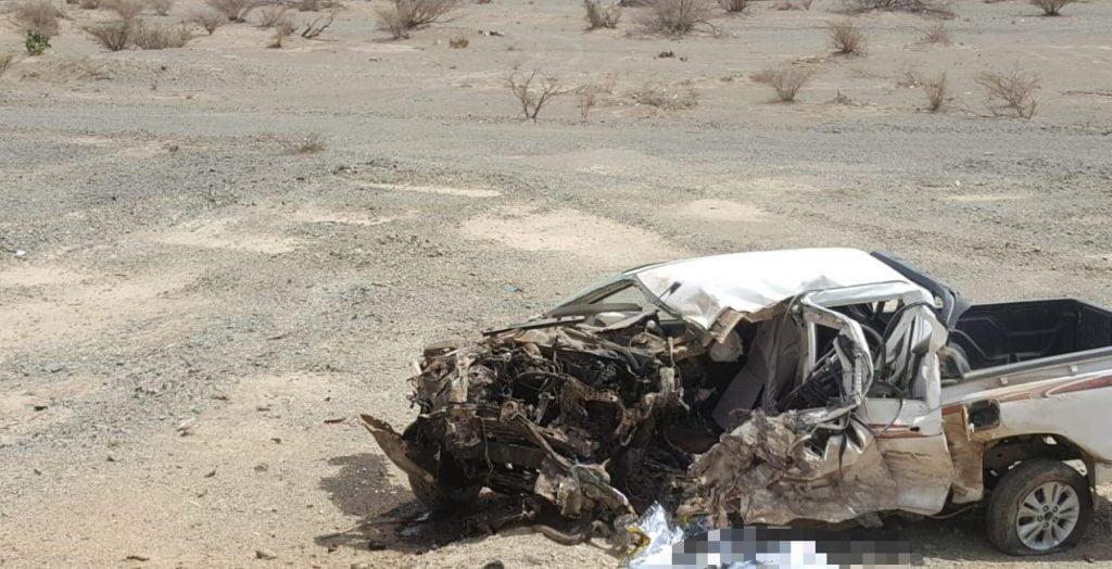 ثلاث وفيات وإصابة خطيره في حادث مروري بالباحة