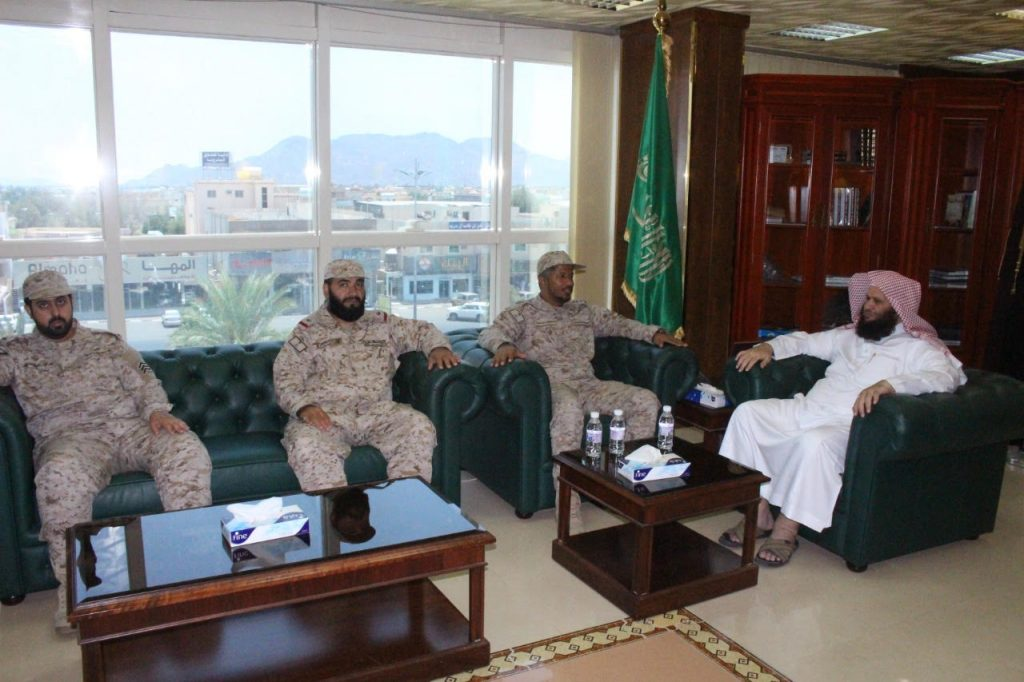مدير عام فرع الشؤون الإسلامية بنجران يلتقي بمدير إدارة الشؤون الدينية بالقوات المسلحة بالمنطقة