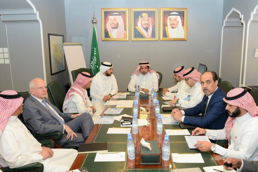 نائب وزير النقل يلتقي وكيل وزارة الداخلية للقدرات الأمنية