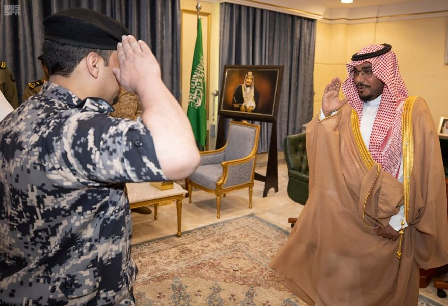 نائب أمير نجران يستقبل قادة القطاعات العسكرية بالمنطقة