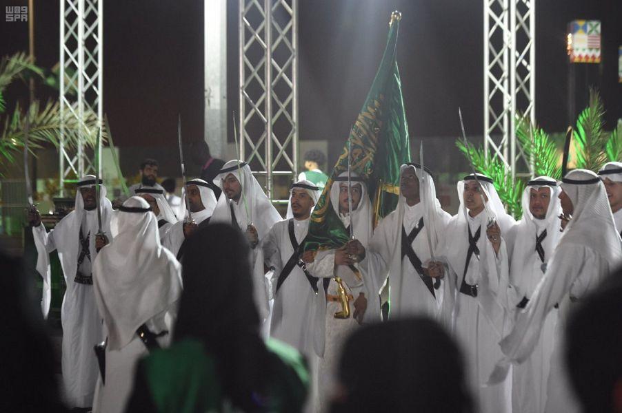 انطلاق فعاليات هيئة الترفيه بمناسبة اليوم الوطني في المدينة المنورة