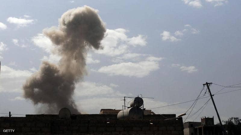 مقاتلات التحالف تشن غارات على مواقع حوثية في صعدة