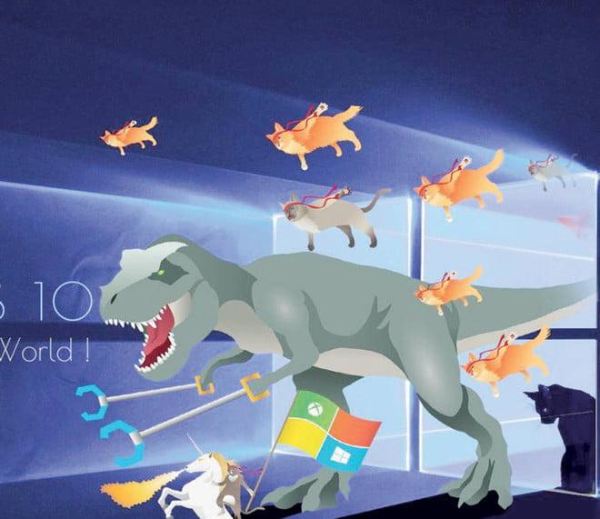 «ويندوز 10» يعمل على نصف أجهزة الكمبيوتر في العالم