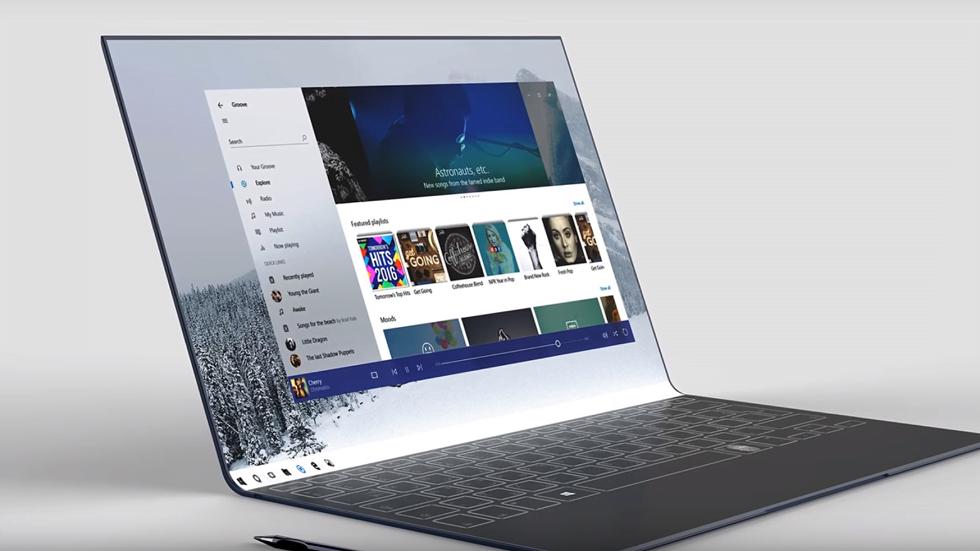 """""""مايكروسوفت"""" تطلق حاسبا غاية في الأناقة والتطور"""