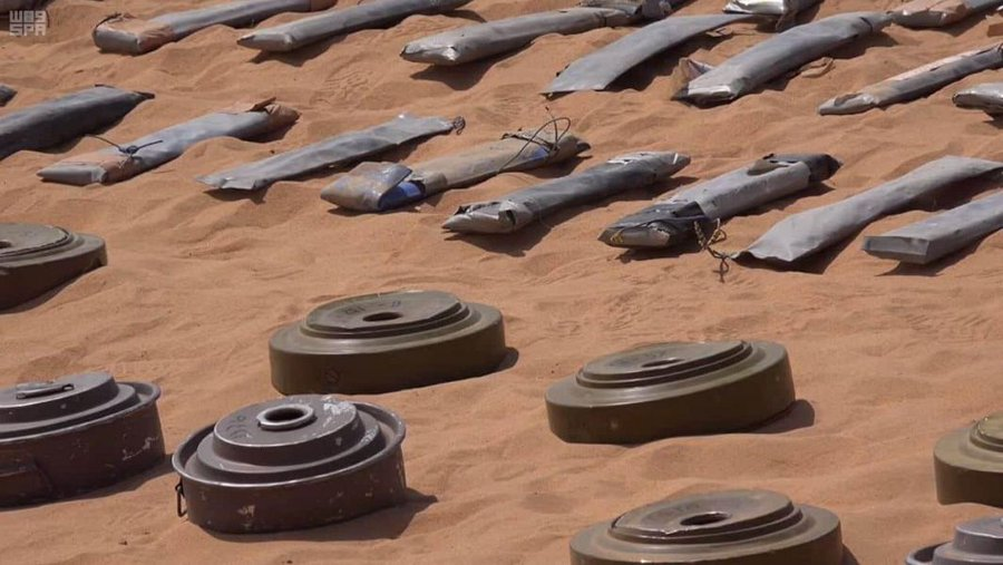 """مشروع مركز الملك سلمان للإغاثة """"مسام"""" ينتزع 2,956 لغمًا في اليمن خلال الأسبوع الأول من شهر سبتمبر"""