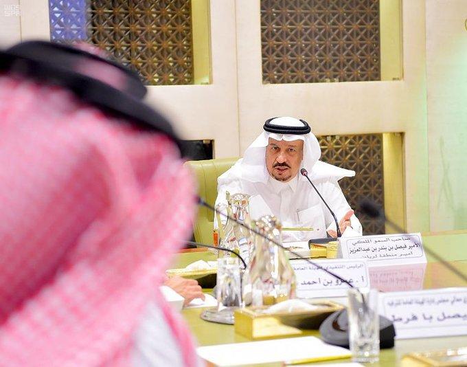 الأمير فيصل بن بندر يطلع على استعدادت هيئة الترفيه لموسم اليوم الوطني 89 وموسم الرياض