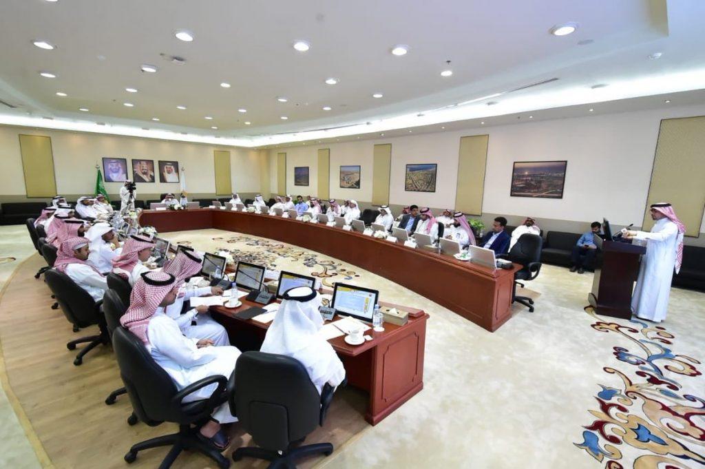 لجنة الاستدامة بالجبيل الصناعية تعقد اجتماعها الرابع