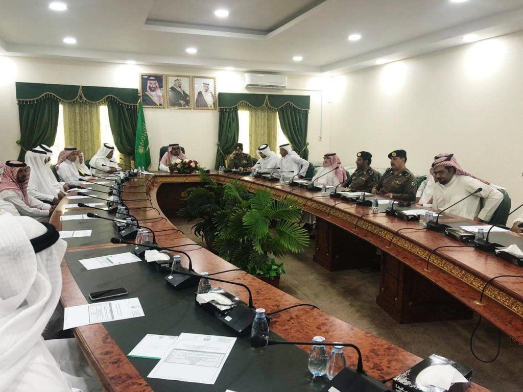 العبيلان يرأس إجتماع اللجنة الرئيسية للإحتفال باليوم الوطني 89