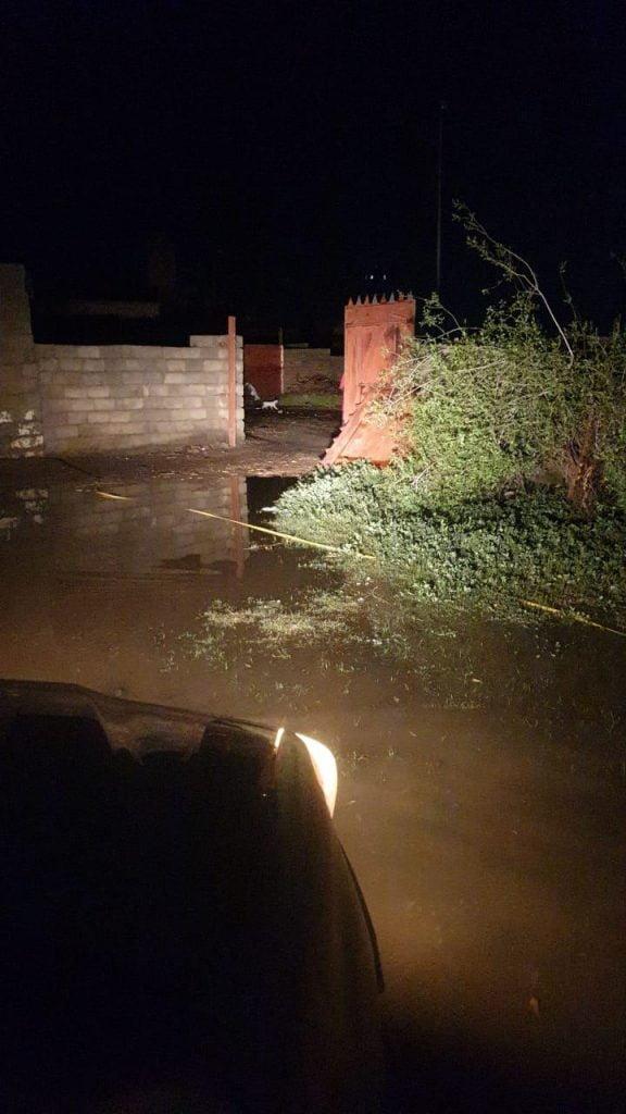 بلدية القفل تستنفر كافة إمكاناتها لمواجهة تجمعات المياه