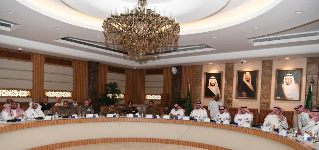 أمانة الشرقية تستعرض مع الجهات الحكومية أعمال وتجهيزات اليوم الوطني الـ 89 للمملكة