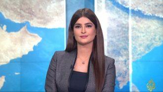 شاهد..علا الفارس تفشل في إخفاء إرتباكها في أول ظهور لها على قناة الجزيرة
